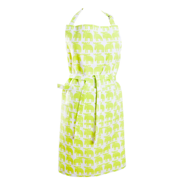 Moz Lime Apron - Northlight Homestore