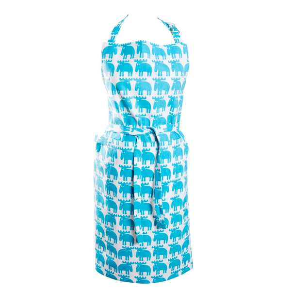 Moz Turquoise Apron - Northlight Homestore