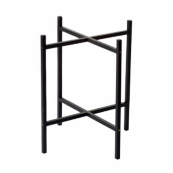 F:rg Form Black Tray Table