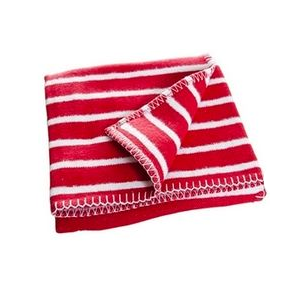 F:rg Form Randig Red Children's Blanket - Northlight Homestore