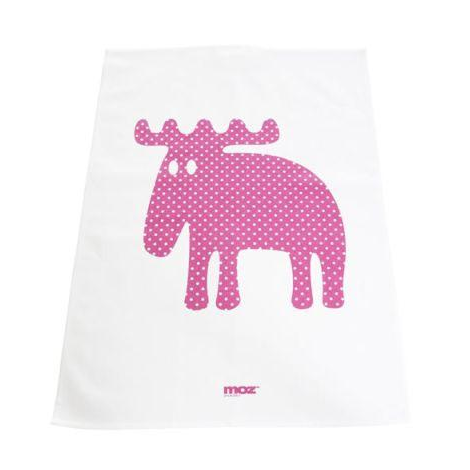 Moz Dotted Pink Tea Towel - Northlight Homestore