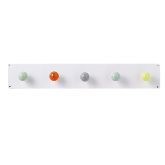 Tea Towel Hook White/Multi