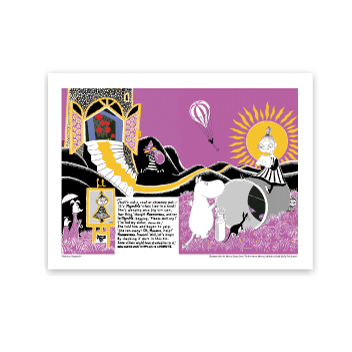 Moomin Sunshine Art Print - Northlight Homestore