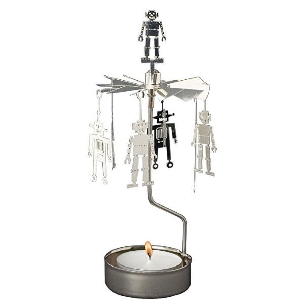 Robot Rotary Tealight Candle Holder - Northlight Homestore