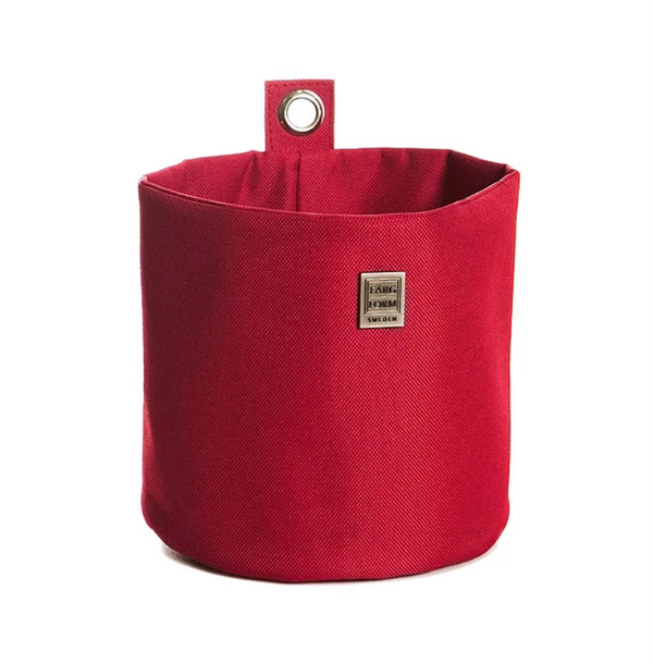 Large Round Storage Red - Northlight Homestore