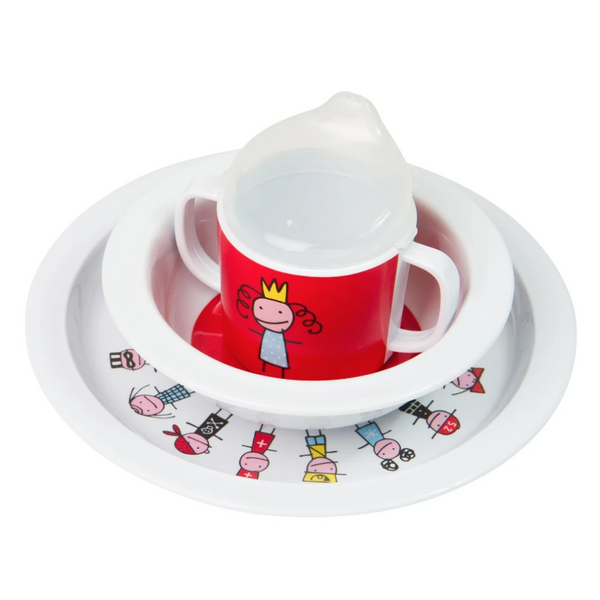 Tiny Princess Dinnerware Set - Northlight Homestore