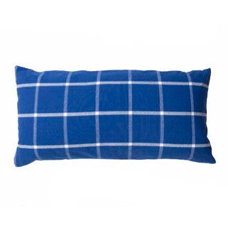 Ruta Blue & White Cushion Cover