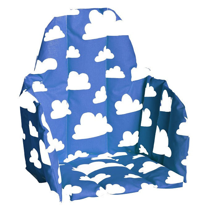 Moln Cloud Blue Seat Cushion for High Chair - Northlight Homestore