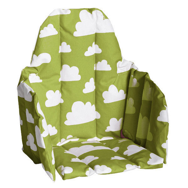 Moln Cloud Green Seat Cushion for High Chair