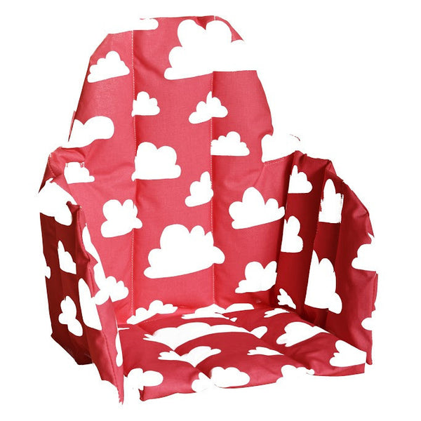Moln Cloud Red Seat Cushion for High Chair