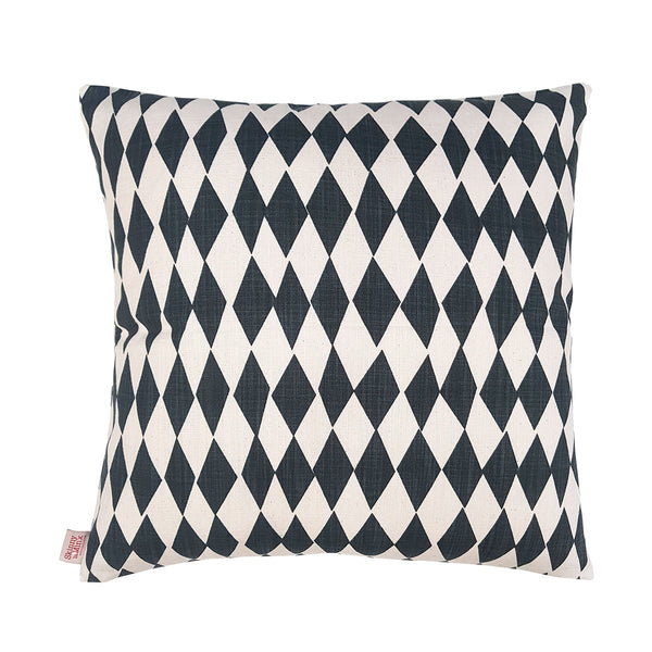 Rough Diamond Inkspot 48x48cm Cotton Cushion Cover