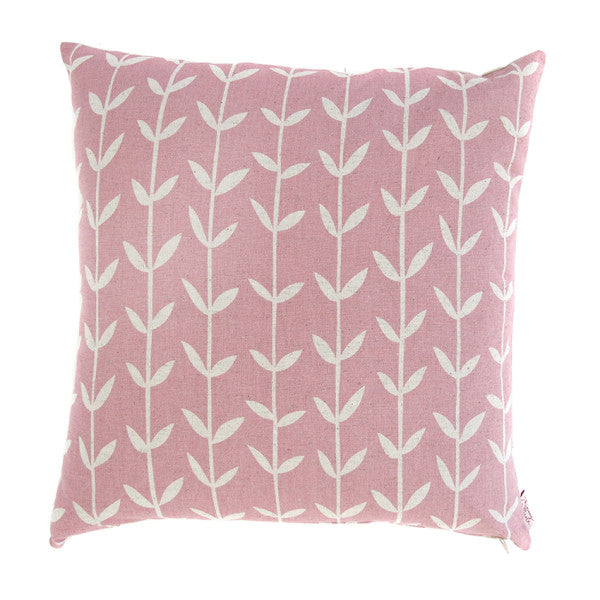 Orla Solid Pink 48x48cm Cotton Cushion
