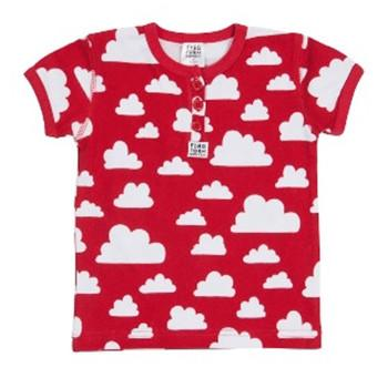 T.Shirt Cotton Cloud Red  - Various sizes