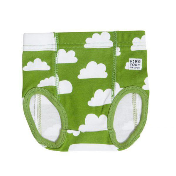 Underpants Cotton Cloud Green - 0-2 Months