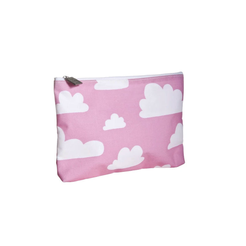 Toiletry Bag 17.5x24cm Cotton Cloud Pink