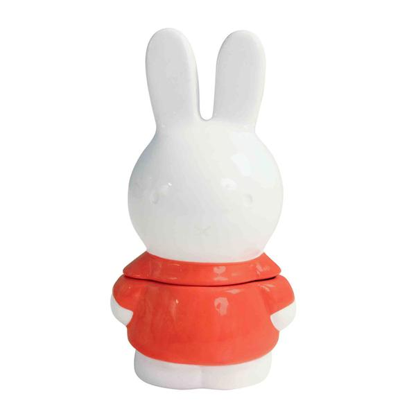 Ceramic Miffy Container Red