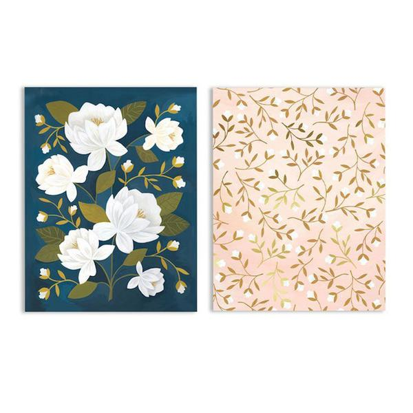 Raleigh Floral Pocket Notebooks Set of 2