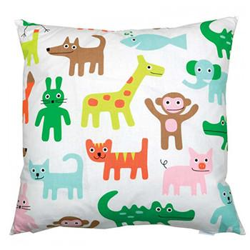 Zoo  45x45cm Cotton Cushion Cover