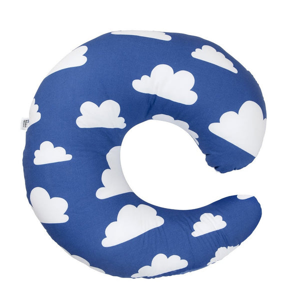 Moln Cloud Blue Breastfeeding Pillow - Northlight Homestore