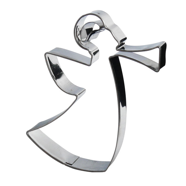 Cookie Cutter Angel Silver