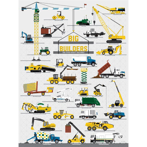 Big Builders and Other Mighty Machines