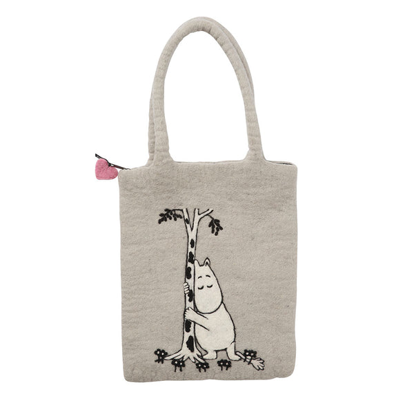 Moomin Tree Hug Felt Bag - Northlight Homestore