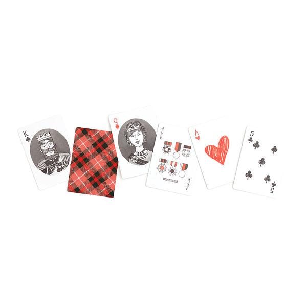 Plaid Playing Cards - Northlight Homestore