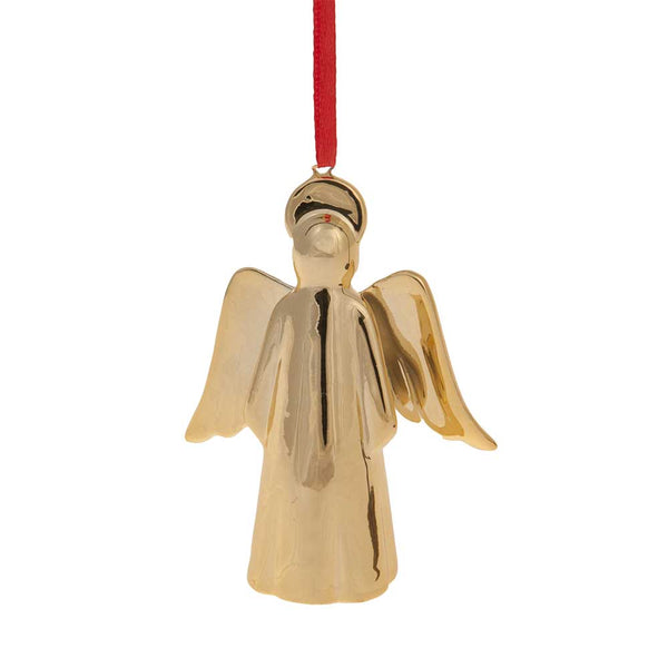 Angel Gold Ceramic Cristmas Decoration