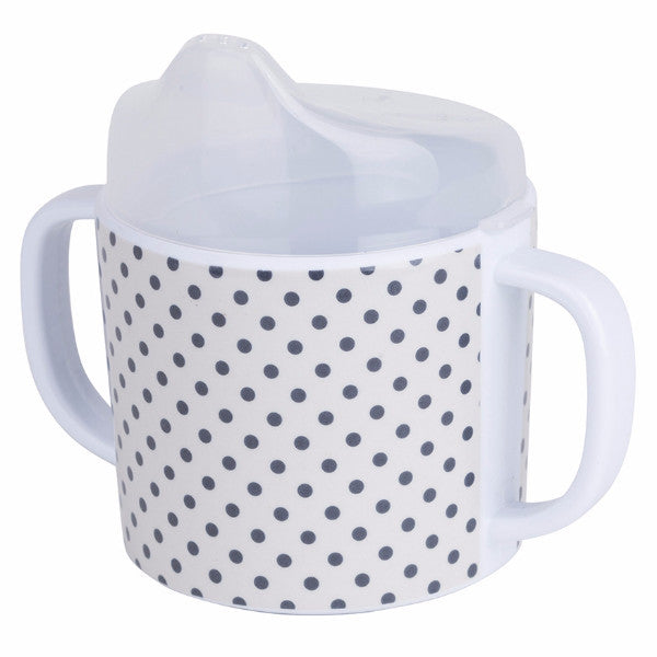 Skummis Grey Dots Melamin Mug - Northlight Homestore