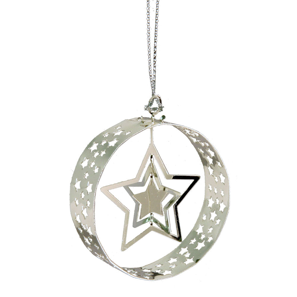 Star Round Hanging Decoration - Northlight Homestore