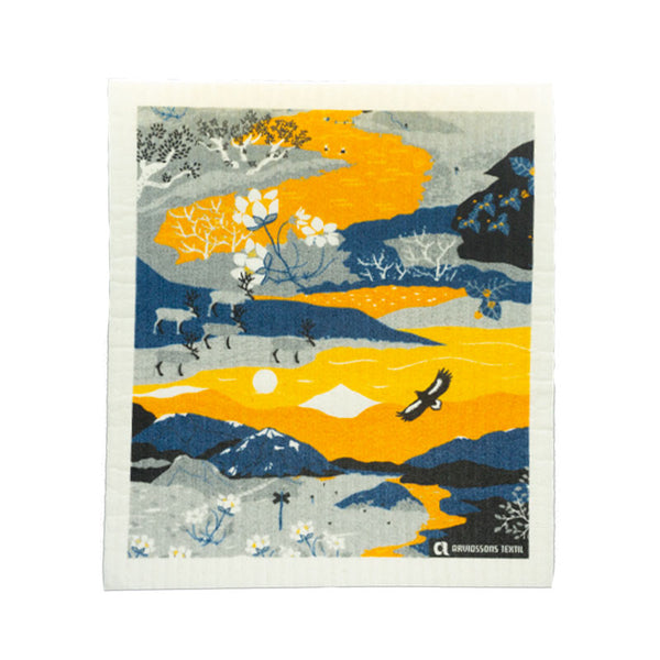 Mountain Hike Dishcloth
