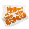 Fox Family DIY Kit Orange