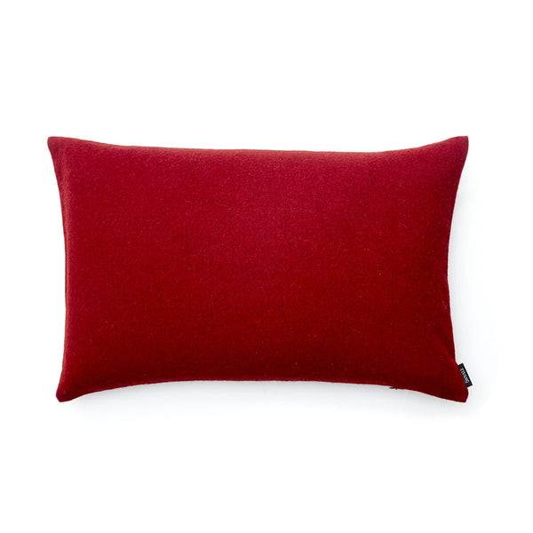 Luxury Red 40x60cm Baby Alpaca Wool Cushion Cover