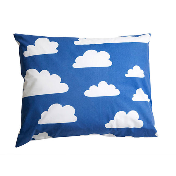 Moln Cloud Children's Pillow Case Blue - Northlight Homestore