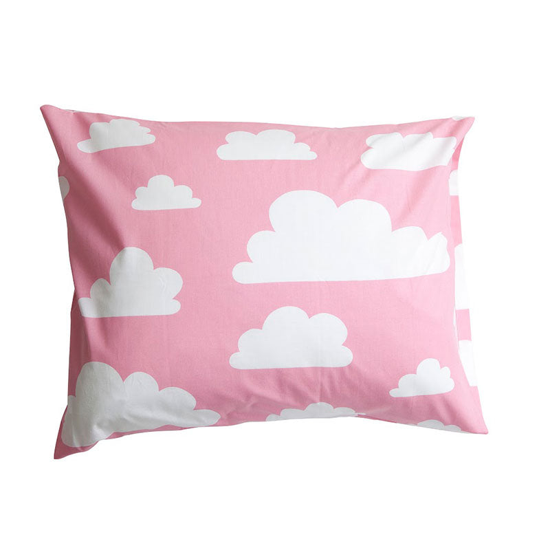 Moln Cloud Children's Pillow Case Pink - Northlight Homestore