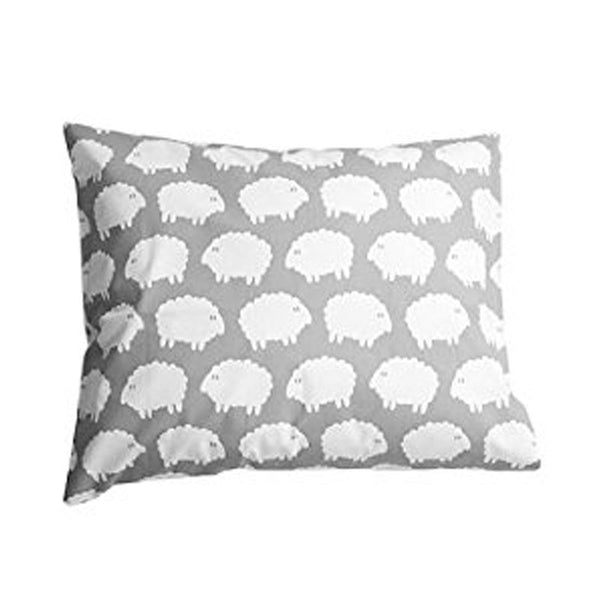 Lamb Grey Children's Pillow Case - Northlight Homestore