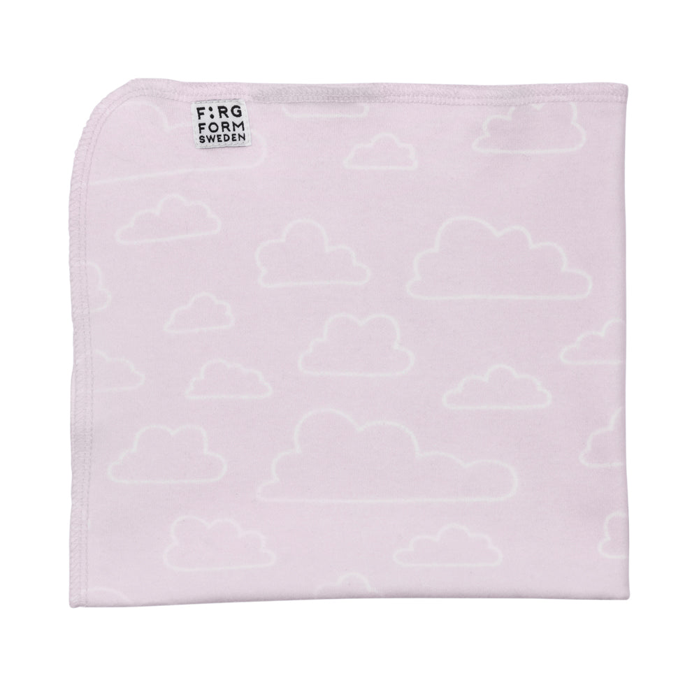 Eco Contour Cloud Small Blanket Pink
