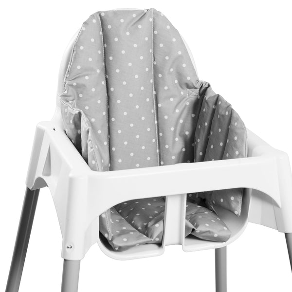 Prickig Child Seat Cushion for High Chair Grey