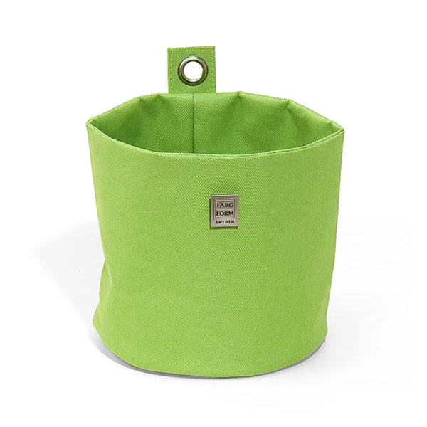 Large Round Storage Lime - Northlight Homestore