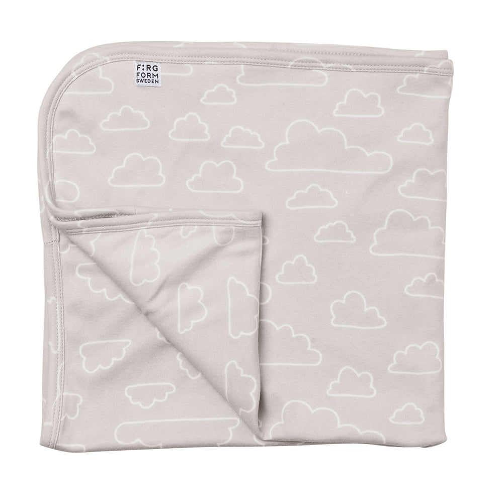 Eco Contour Cloud Blanket Natural - Northlight Homestore