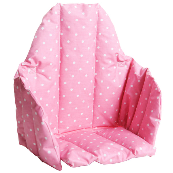 Prickig Child Seat Cushion for High Chair Pink