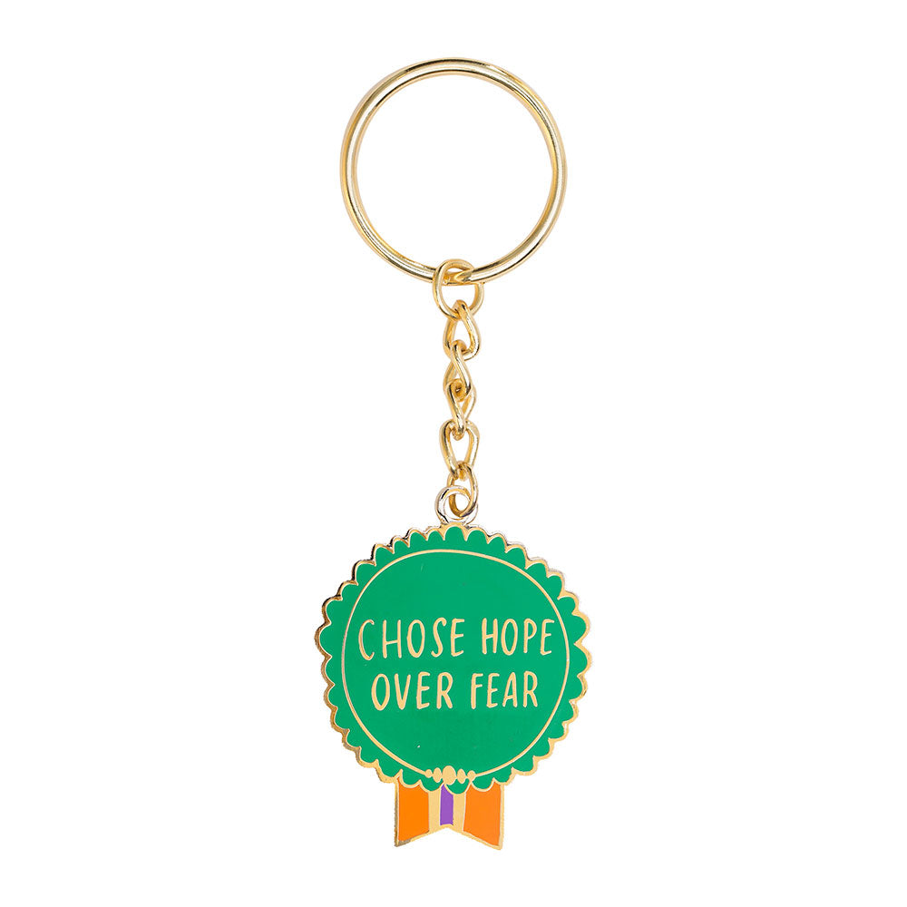Chose Hope Over Fear Keychain