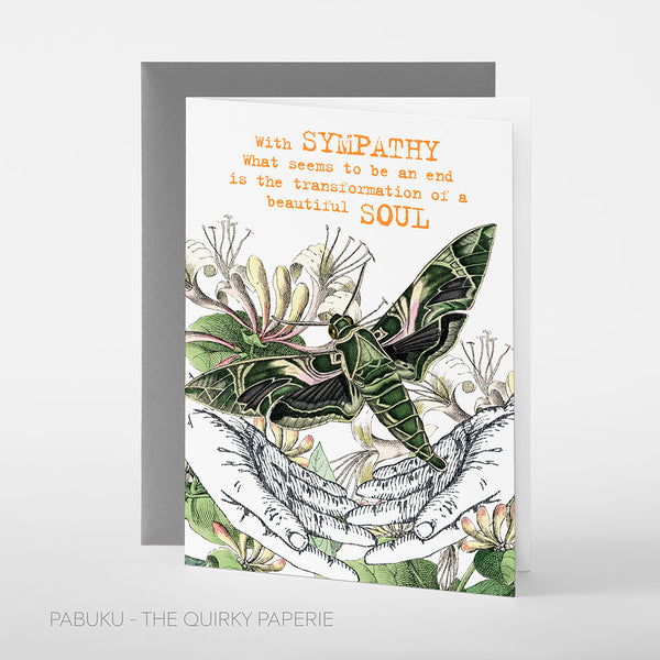 Sympathy Soul Card - Northlight Homestore