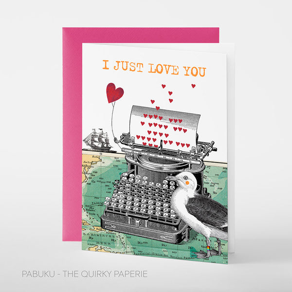 Just Love You Card - Northlight Homestore