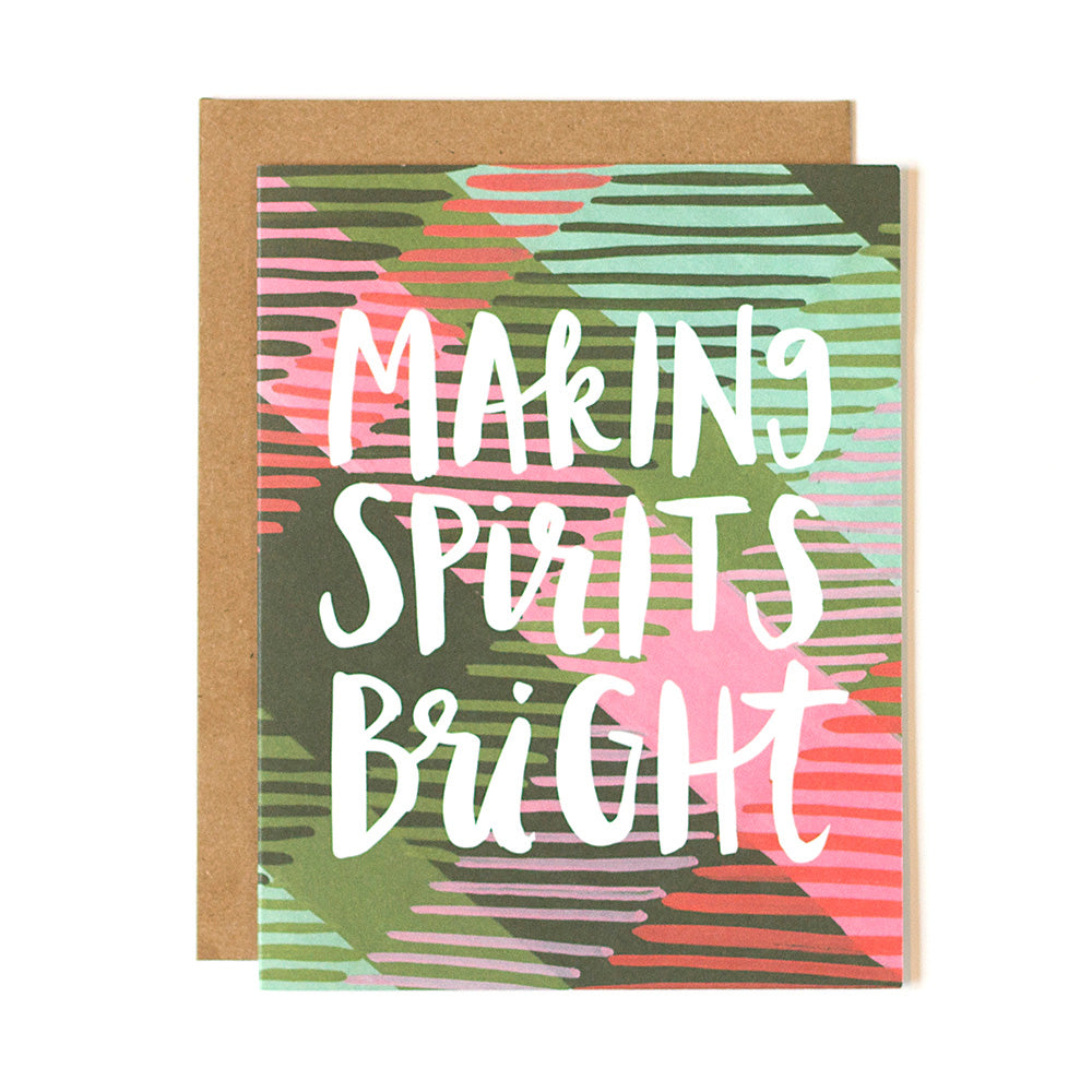 Making Spirits Bright Card - Northlight Homestore