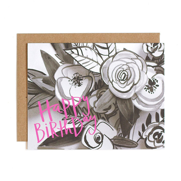 Birthday Bouquet Card - Northlight Homestore