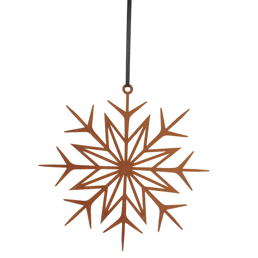 Metal Deco Snowflake - Northlight Homestore