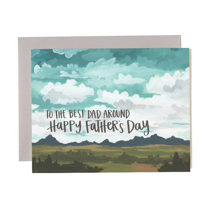 Father's Day Landscape Card - Northlight Homestore