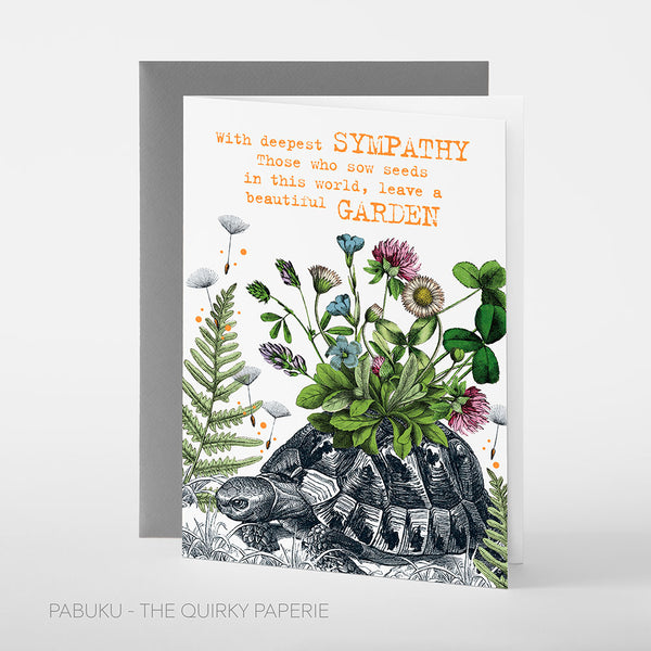 Sympathy Garden Card - Northlight Homestore