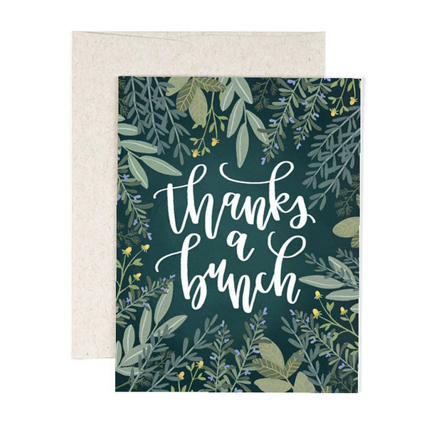 Herb Thanks Card - Northlight Homestore